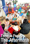 Typhoon Frank Photos